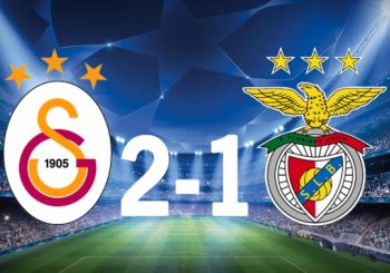 Benfica perde com Galatasaray na Champions