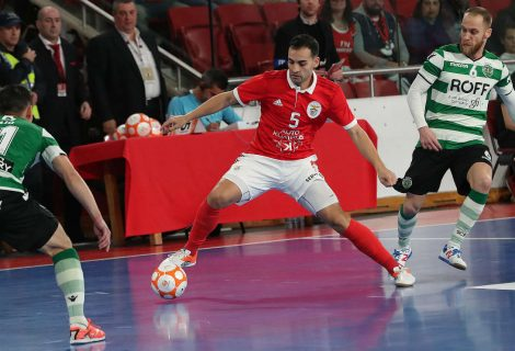 Benfica joga final do nacional de futsal com o Sporting