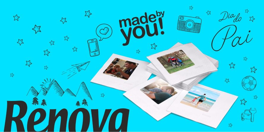 Renova nos grandes momentos com Made By You – um presente personalizado para o Dia do Pai