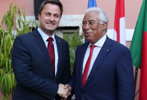 António Costa laureado com Grã-Cruz do Mérito do Luxemburgo