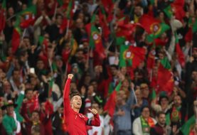 Portugal-Lituânia no Estádio do Algarve