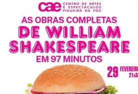 As obras completas de William Shakespeare em 97 Minutos no CAE da Figueira da Foz